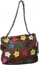 Damentasche Umhängetasche Vinatge Flower Power Tasche